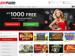 Red Flush Casino Lobby