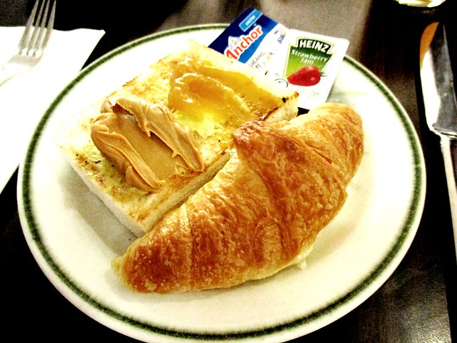 Hotel breakfast croissant 1