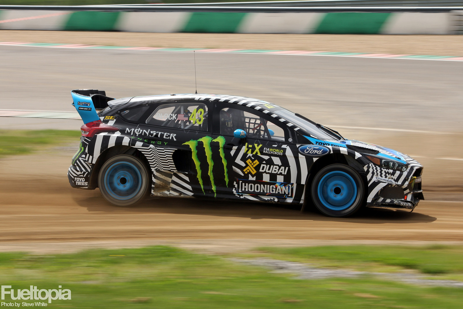 Ken Block Mettet Turn Two Dirt Slide