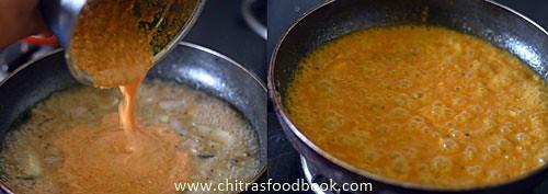 Tomato sambar recipe