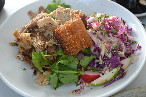 Twelve hour pork salad