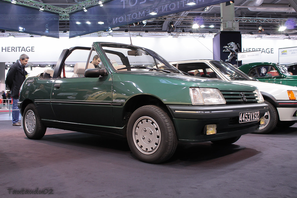 peugeot 205 cabriolet roland garros 1991 la conception bic flickr. Black Bedroom Furniture Sets. Home Design Ideas