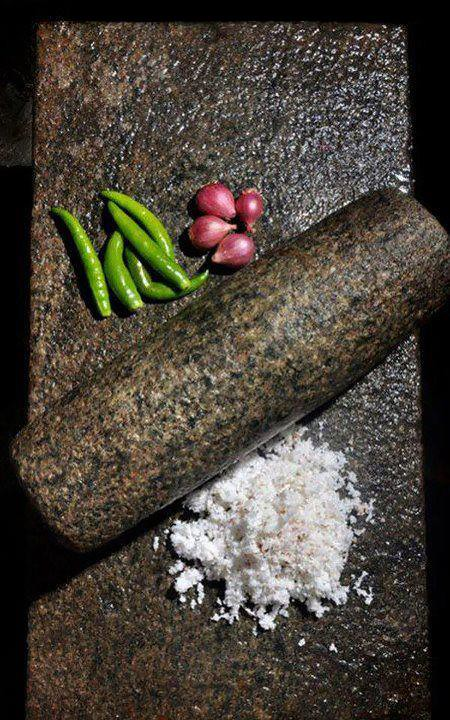 Ammi Kallu Traditional Grinder Typical Grinding Stone