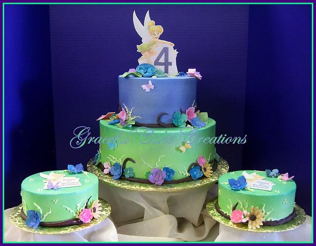 Tinkerbell Birthday Cake Decorating Ideas