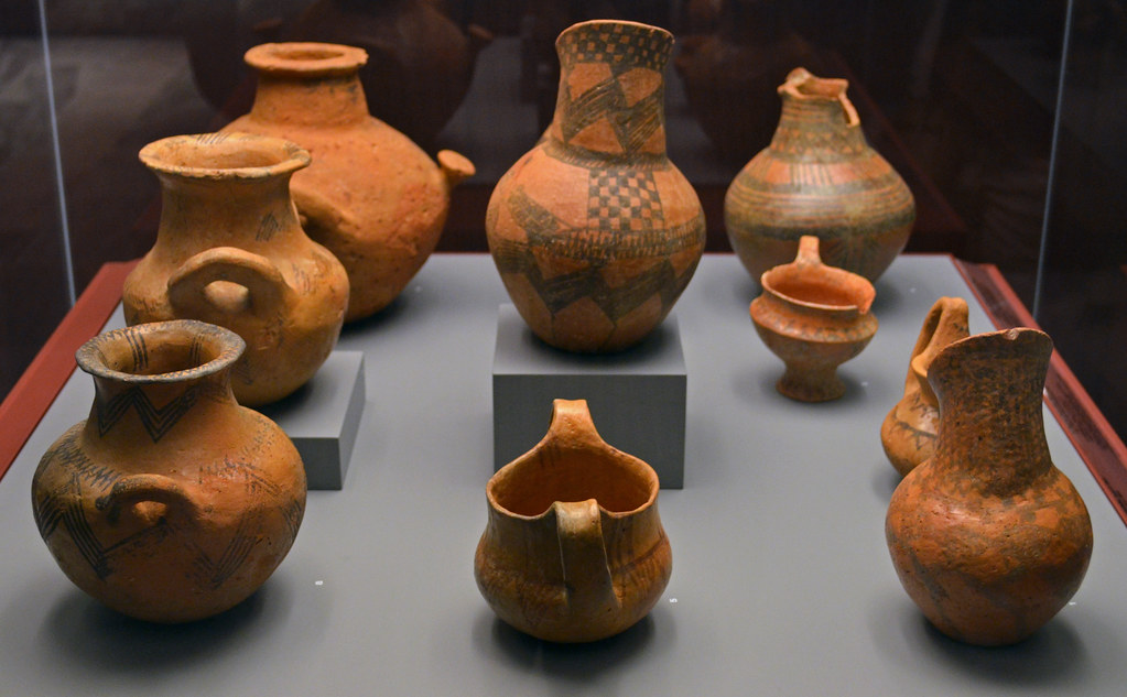 Iron Age Matt Painted Pottery From The Area Of Aiani 1