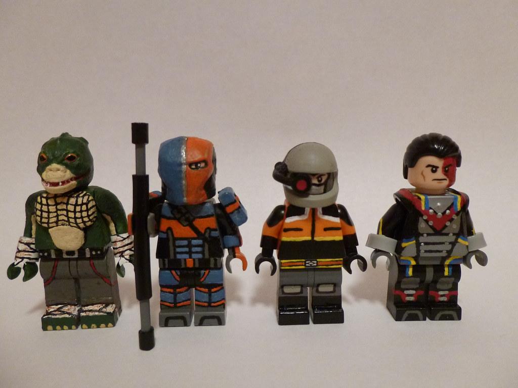 Lego Arkham Origins Assassins 1 | Killer Croc, Deathstroke ...