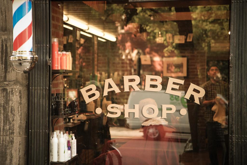 Barber Shop @ Chelsea, New York City PnP! Flickr