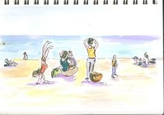 Spanish Miami Beach, for Sketch exchange 3 by sonia ferreiro