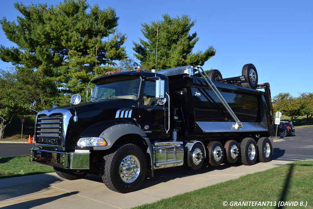 New Dump Trucks >> 2014 Mack GU813 Super Dump | Trucks, Buses, & Trains by granitefan713 | Flickr