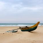 Boat at Bentota Beach