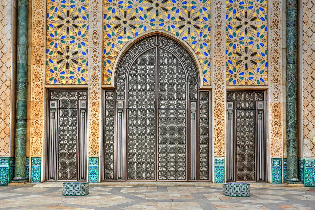 Hassan Ii Mosque Entrance Camera Canon Eos 6d Lens