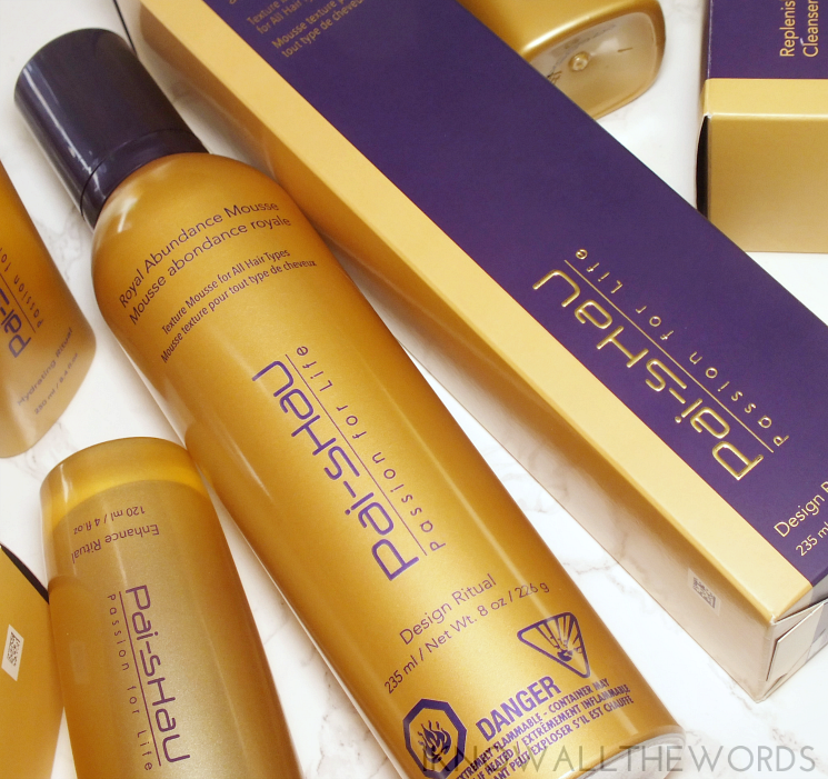 pai shau royal abundance mousse