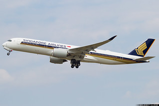 Singapore Airlines Airbus A350-941 cn 037 9V-SMD
