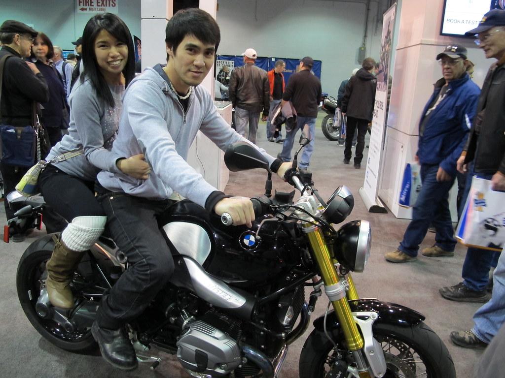 BMW R Nine T Charm's Favorite Motorcycle