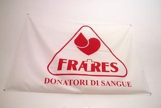 Noicattaro. Fratres donatori bandiera