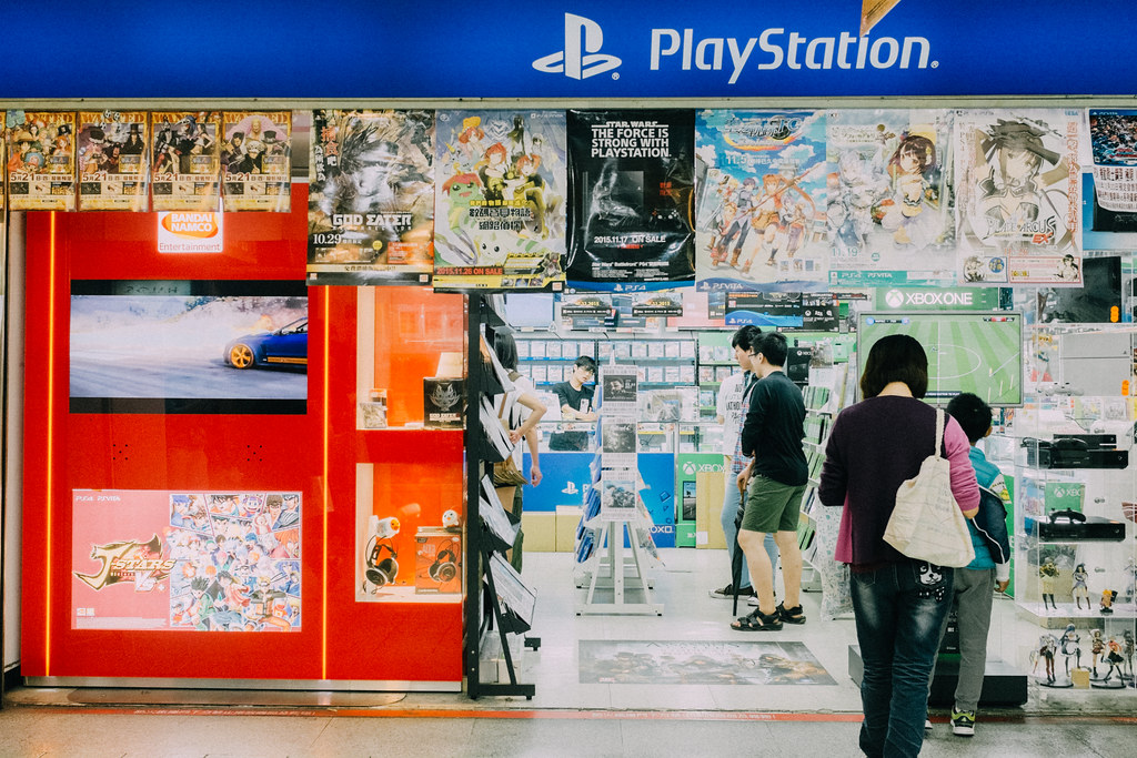Play Station y Xbox omnipresentes en todas las galerías