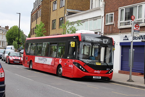 Abellio London 8873 on Route E7, West Ealing