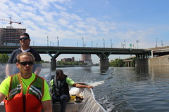 Taking on Schuylkill River Trash - Philadelphia Water's Workboat