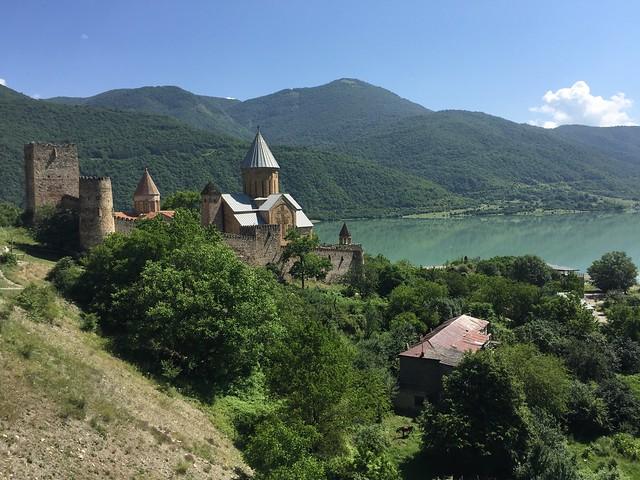 Fortín de Ananuri (Georgia)