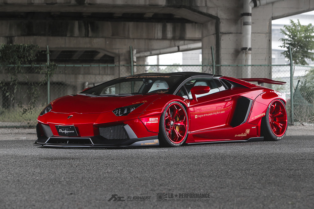 bloody red liberty walk lamborghini aventador lp700 with f flickr. Black Bedroom Furniture Sets. Home Design Ideas