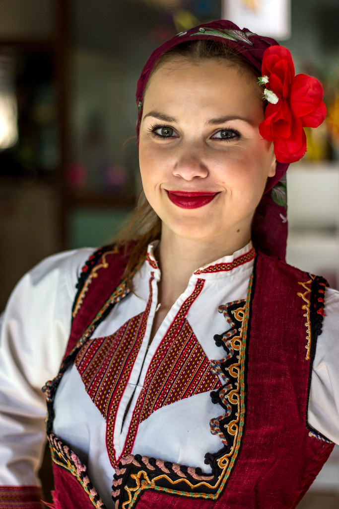 Beautiful macedonian women