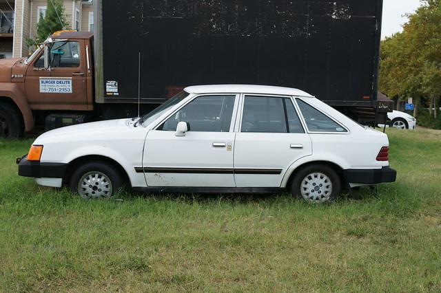 1986 ford escort l