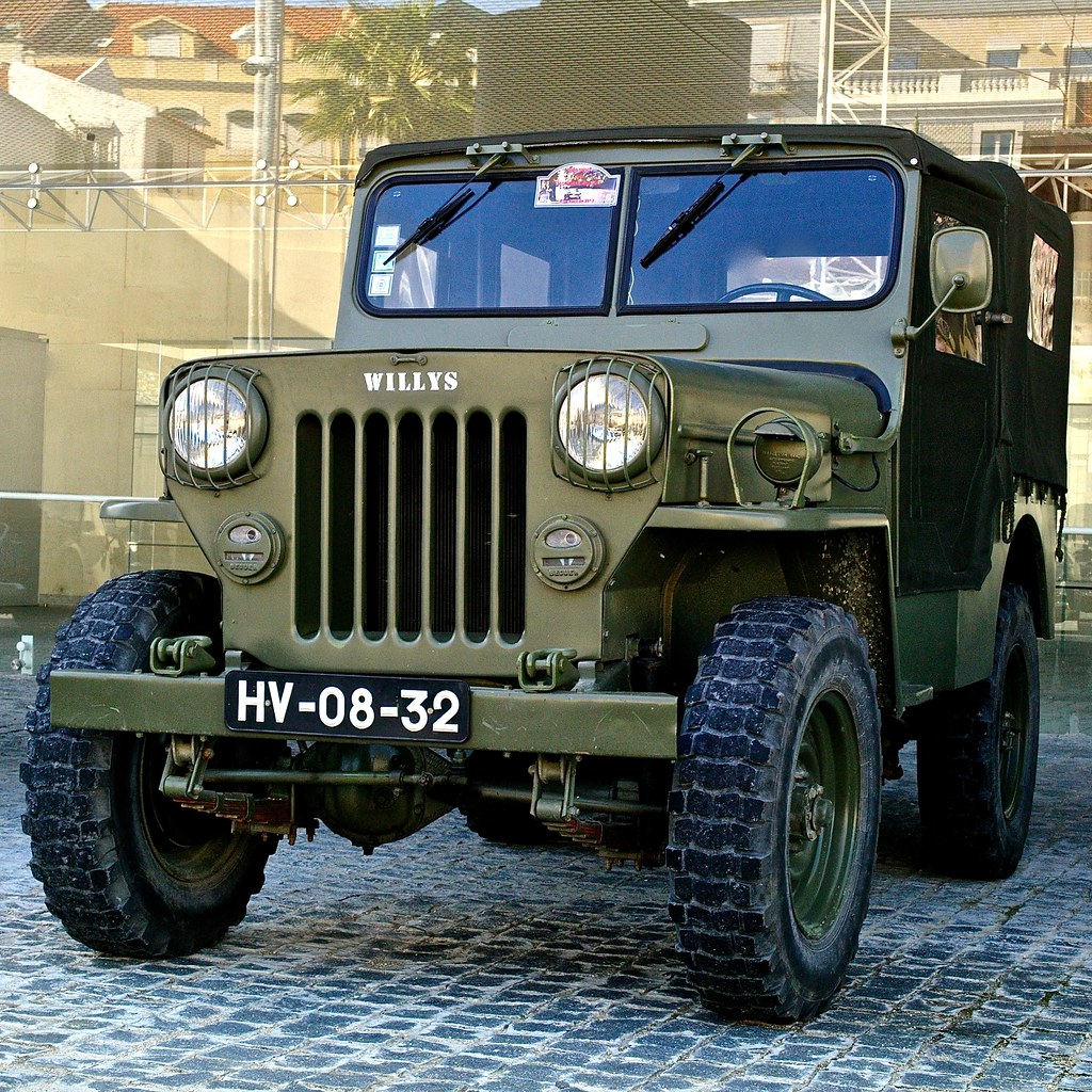 Jeep Willys | Belem, Lisbon, Portugal in Wikipedia The