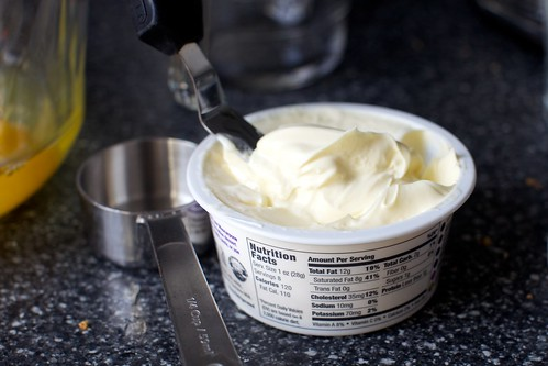 mascarpone, oops, don't read the label