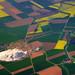 Aerial view of potash works near Hildesheim, Germany