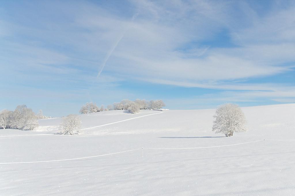 Quand l'hiver est beau