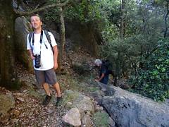 Brèche du Carciara d'Aragali : sur l'ancien chemin d'exploitation