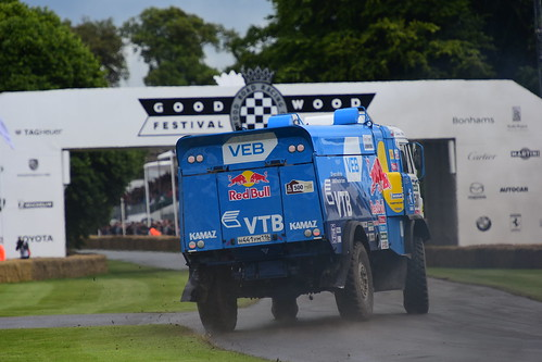 Airat Mardeev, Kamaz T4 Dakar Truck, Goodwood Festival of Speed 2016