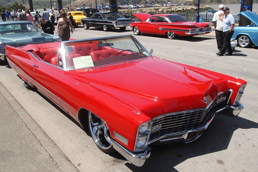 1967 cadillac convertible deville custom 39 usy 786 39 1 flickr. Black Bedroom Furniture Sets. Home Design Ideas