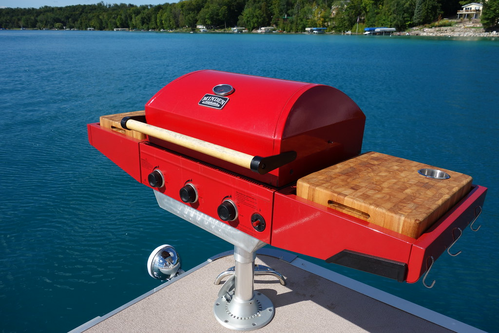The perfect pontoon boat Propane bbq grill   RBD111   Flickr
