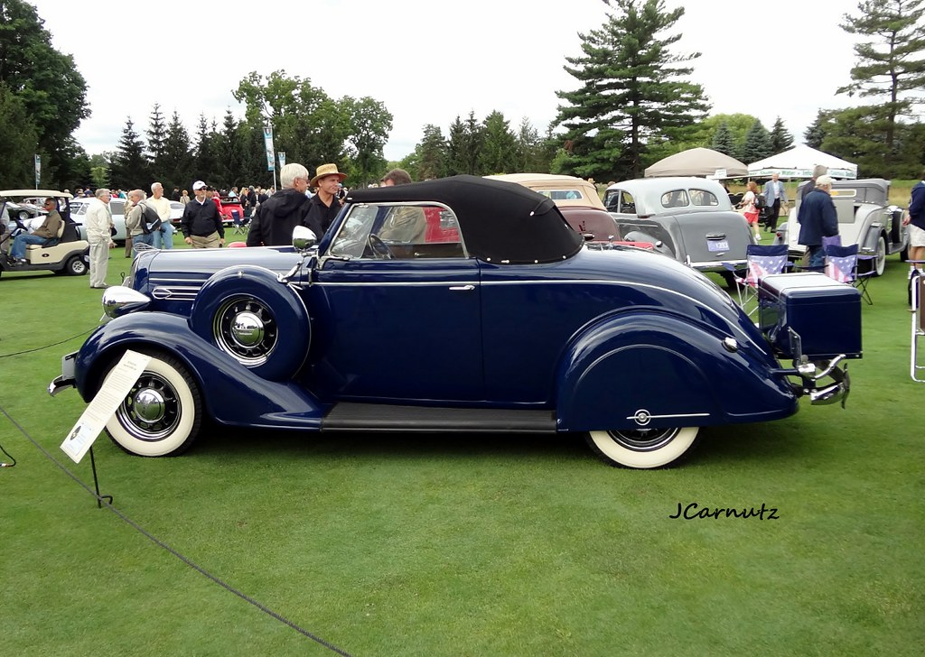 1936 Plymouth Deluxe Rumbleseat Convertible Coupe Taken