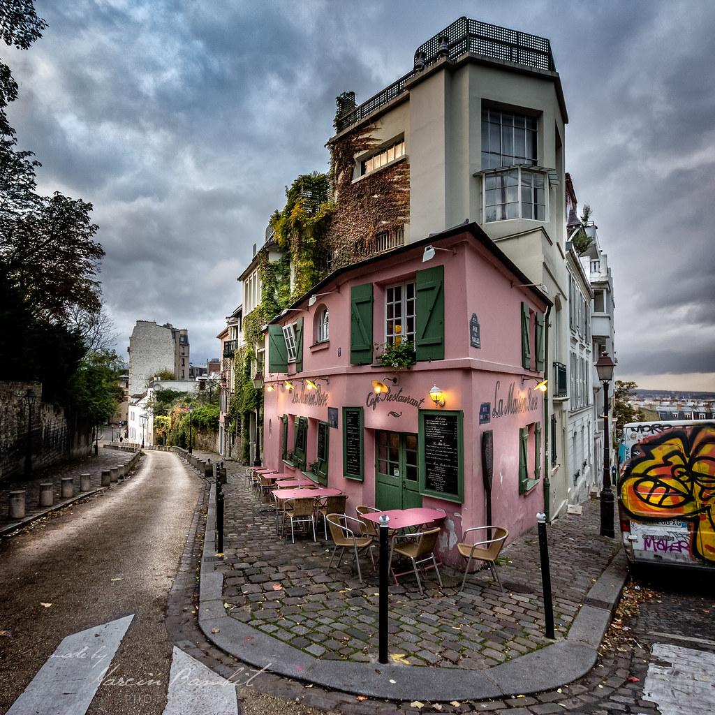 Paris montmartre paris france montmartre hill novembe flickr - La maison du bain paris ...