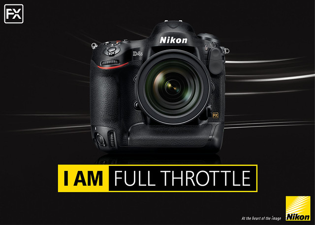 Introducing ultimate imaging machine: The Nikon D4S