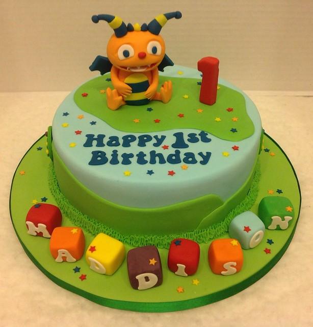 henry hugglemonster birthday cakes