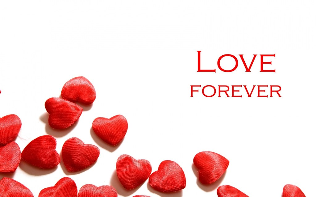 Love Forever Happy Valentines Day HD Wallpaper