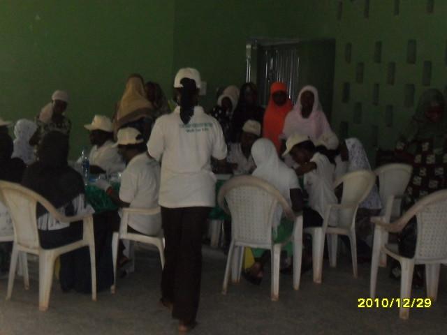 AWARENESS AND TESTING AT ANSARUDEEN YOUTH CAMP AT IPAJA COMMAND, 29/12/2010.