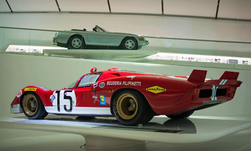 1970 Scuderia Filipinetti Ferrari 512s Berlinetta Coda Lun