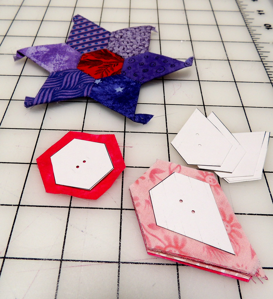 Templates And Fabric Paper Templates With Two Holes