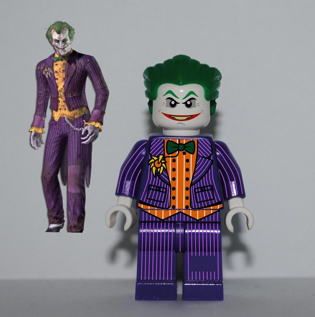 Lego Batman 2 All Characters Toys Arkham City/Asylum Jok...