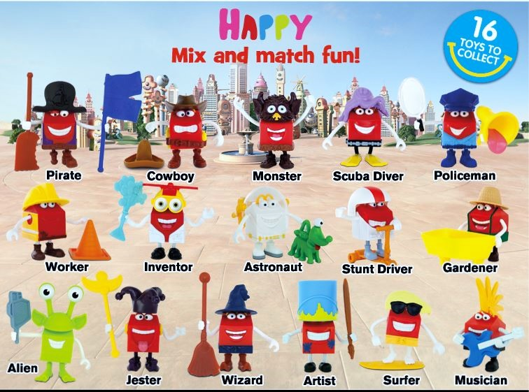 Mcdonald S Happy Meal Toys 2013 : Mcdonald s happy meal toys august australia