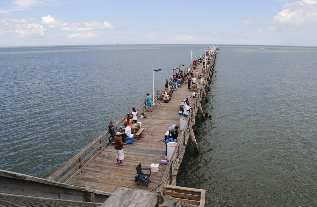 Ocean view fishing pier 400 w ocean view ave norfolk for Fishing in norfolk va