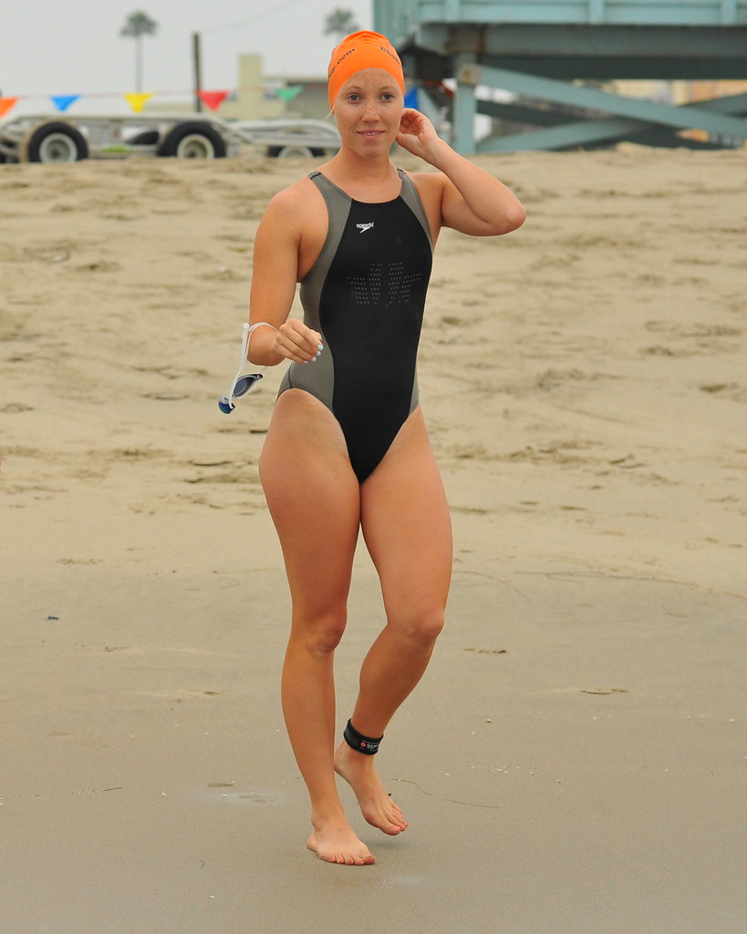 Young Woman Swimmer | ...