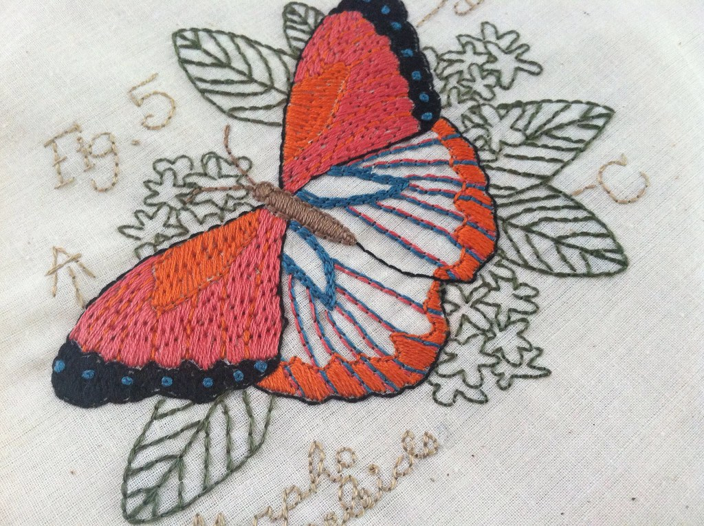 Butterfly pattern by urban threads aimee flickr for Thread pool design pattern