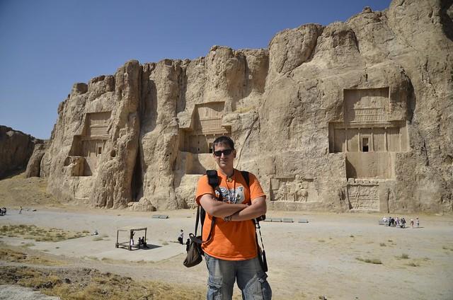 Sele en Naqsh-e Rostam (Irán)