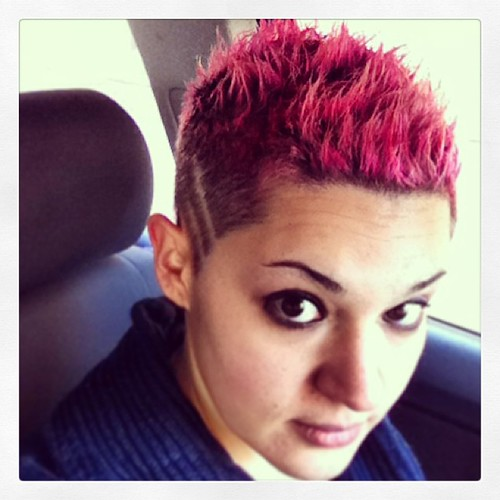 hair style pink