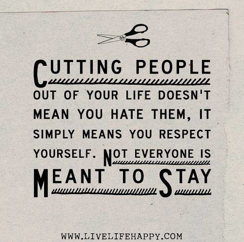 #Hurt #Quotes #Love #Relationship Cutting People Out Of